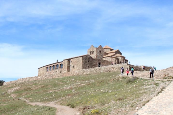 El Monasterio de Sant Llorenç del Munt en La Mola.   Foto: Sabrina Balague